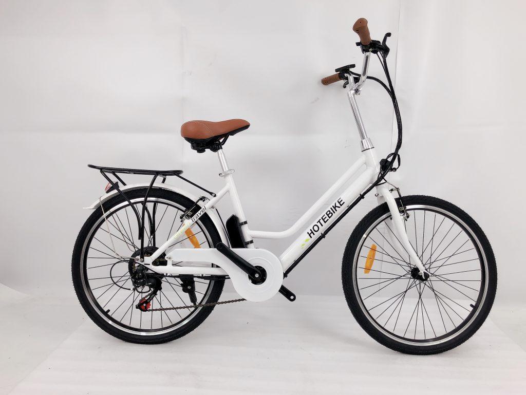 Flat-Foot Comfort Bike